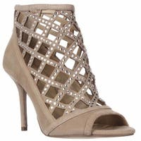 MICHAEL Michael Kors Yvonne Caged Open Toe Dress Sandals, Dark Khaki