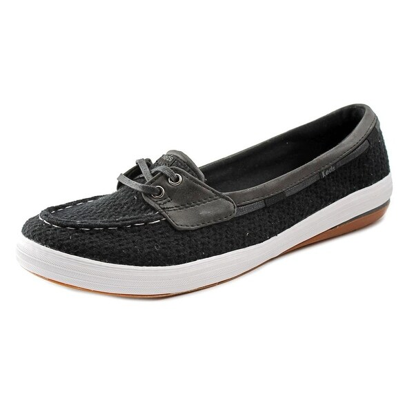 Keds Glimmer Boat Women  Moc Toe Canvas  Boat Shoe
