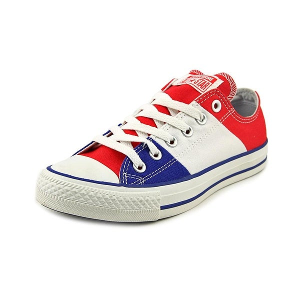Converse Chuck Taylor Tri Panel Oxford Women Red/White/Bl Sneakers Shoes
