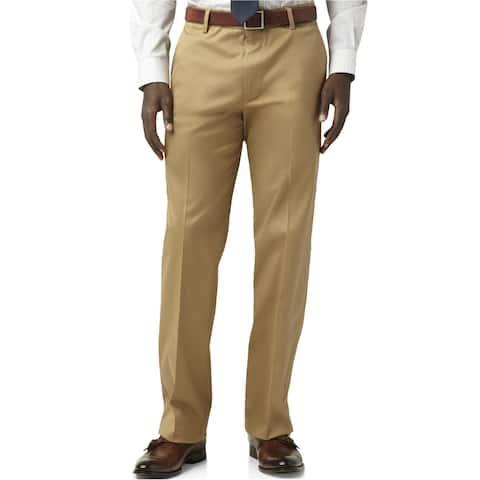 Dockers Mens Straight Casual Chino Pants, Beige, 34W x 30L