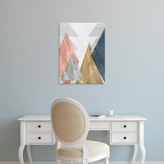 Easy Art Prints Jennifer Goldberger's 'Peaks II' Premium Canvas Art