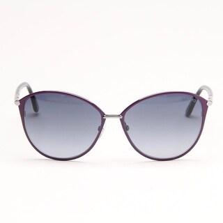 Penelope Purple Metal Sunglasses