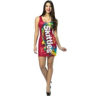 Rasta Imposta Skittles Tank Dress Adult Costume - Solid - one-size