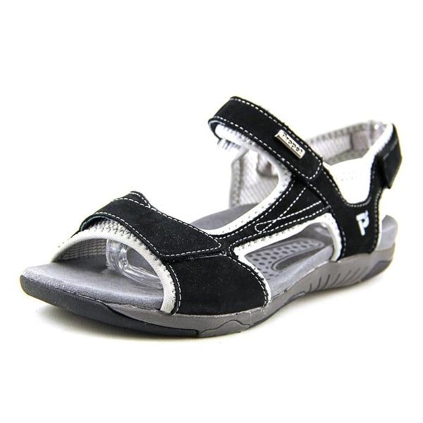 Propet Helen Black/Silver Sandals