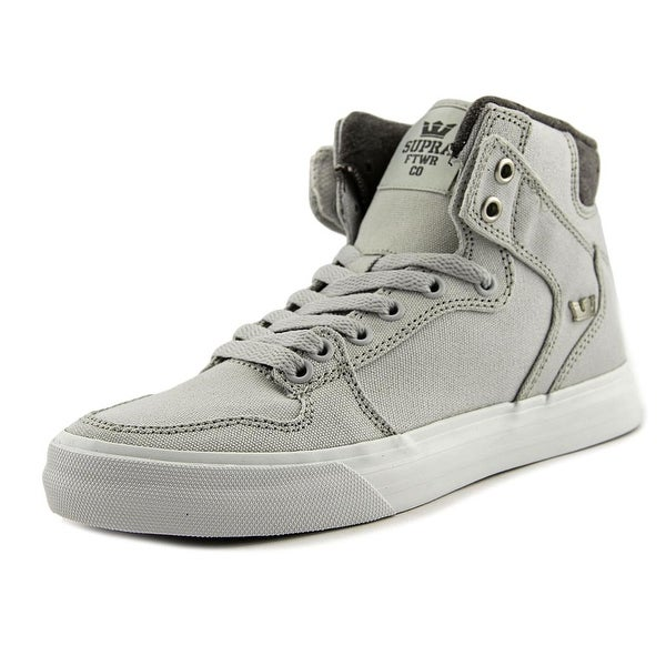Supra Vaider Men Grey Violet-White Skateboarding Shoes