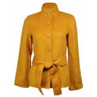 Sutton Studio Women's Wool & Cashmere Flare Sleeve Jacket Misses