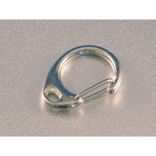 TEC Accessories Snap Ring 1/2 Inch Nickel Plated Steel Gate Clip