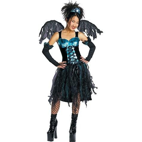 Gothic Fairy Costume, Medium (7-8)