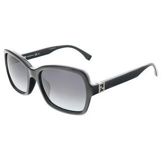 Fendi FF0007S 0D28 Shiny Black Butterfly sunglasses