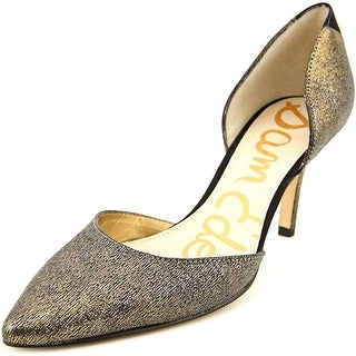 Sam Edelman Opal Women Pointed Toe Leather Bronze Heels
