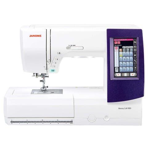 Janome Horizon Memory Craft 9850 Sewing & Embroidery Machine
