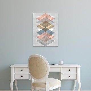 Easy Art Prints Jennifer Goldberger's 'Diamond Allign II' Premium Canvas Art