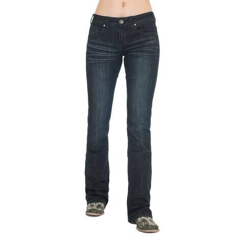 Cowgirl Tuff Western Jeans Womens Forever Tuff Dark Wash