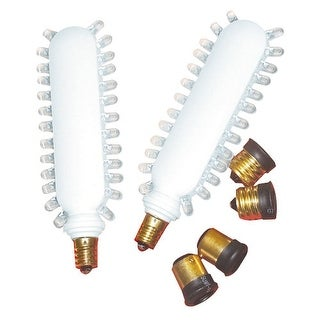 Elco EERT6G Screw-in Green LED Retrofit Kit for 120V Fixtures with 3 Socket Types