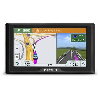 Garmin Drive 61 LMT-S Navigation System (U.S. & Canada Maps, Traffic/Parking Info)