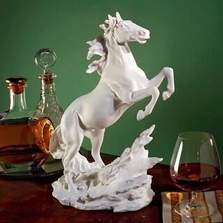 Design Toscano Untamed Beauty Bonded Marble Horse Statue