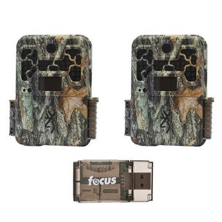 Browning Recon Force Advantage Trail Camera (2) with Focus USB 2.0 Card Reader - Camouflage