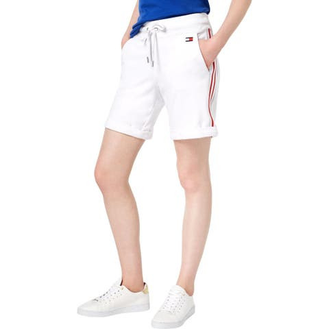 Tommy Hilfiger Womens Athletic Shorts Fitness Workout
