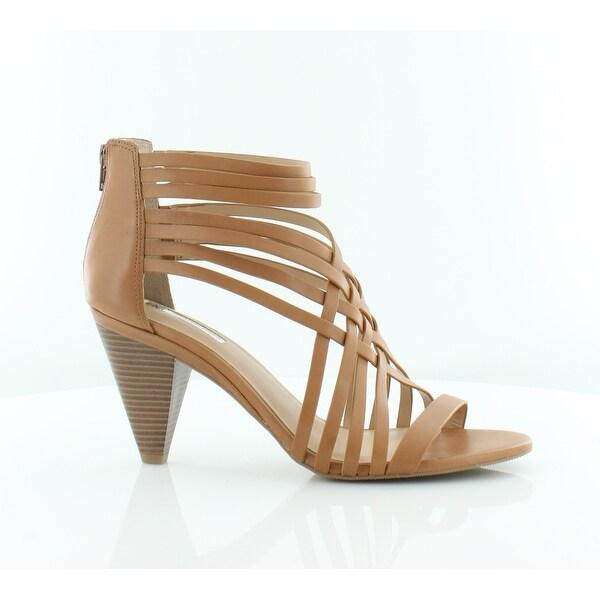 INC International Concepts Garoldd Women's Sandals & Flip Flops Golden Cognac - 9.5