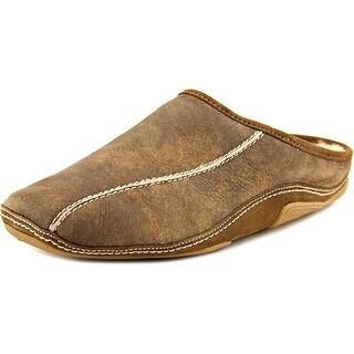 Romika Murren H 01 Men Round Toe Leather Brown Slipper