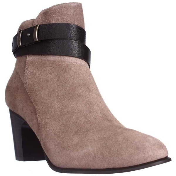 GB35 Calae Ankle Boots, Dark Taupe - 8.5 us