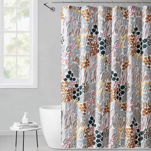 Marimekko Pieni Letto Cotton Shower Curtain
