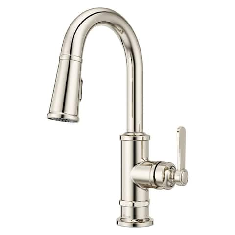 Pfister GT572TD Port Haven 1.8 GPM Single Hole Pull Down Bar Faucet