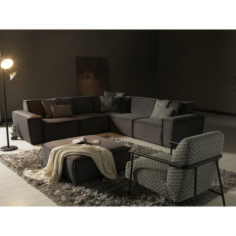 Mentos Living Room Sectional Sofa