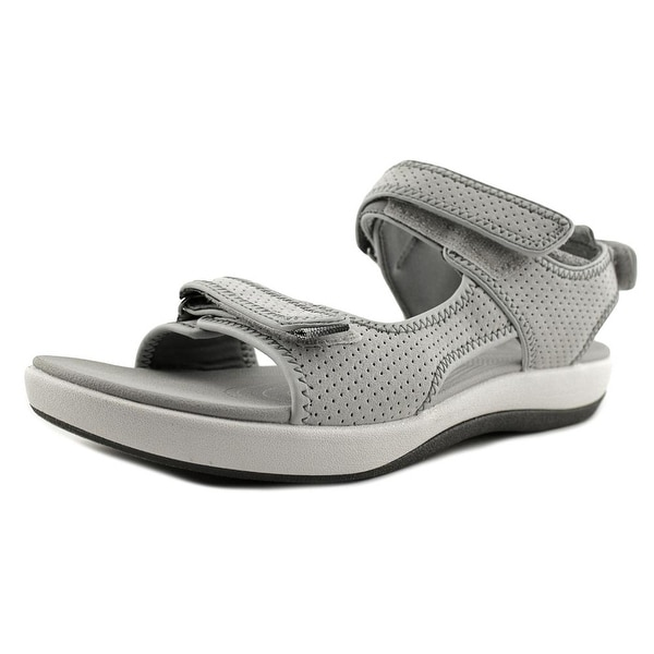 Clarks Cloudsteppers Brizo Sammie Light Grey Sandals