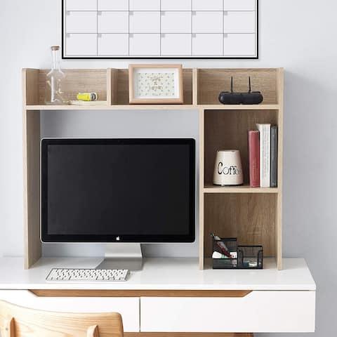 Classic Dorm Desk Bookshelf - Sonoma