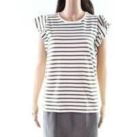 Lauren By Ralph Lauren Women's Stripe Knit Top
