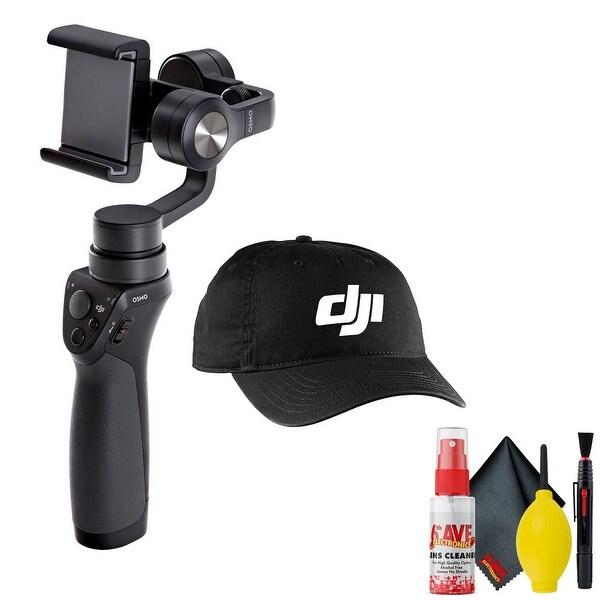 DJI Osmo Mobile Gimbal Stabilizer - DJI Baseball Cap Black - Cleaning. Opens flyout.