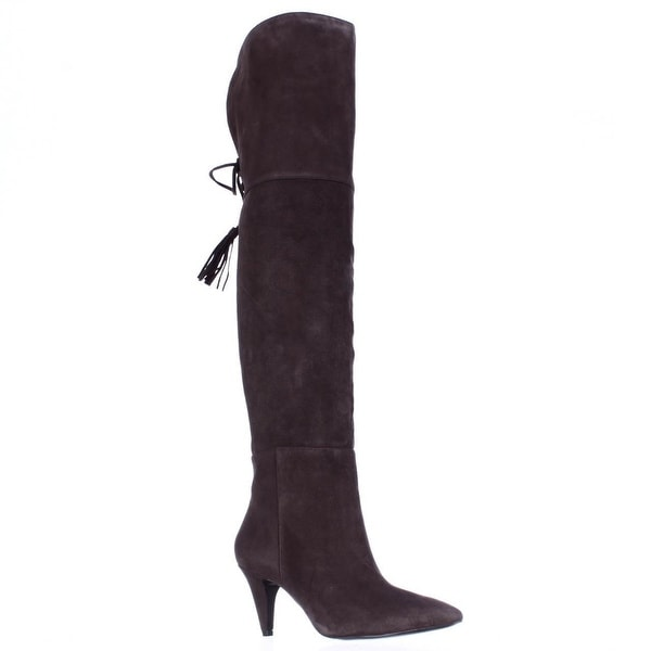 Nine West Josephine Over-The-Knee Boots, Dark Brown