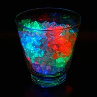 Club Pack of 12 Battery Operated LED Multicolored Waterproof Tea Lights - Multi