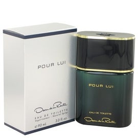 Oscar Pour Lui by Oscar de la Renta Eau De Toilette Spray 3 oz - Men