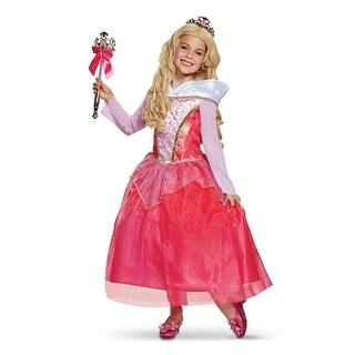 Girls Aurora Deluxe Sleeping Beauty Gown Costume