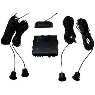 Crimestopper CSPCA5010IIB Crimestopper Parking Sensor System with Top Display and Distance Adjustment Feature CA-5010.II