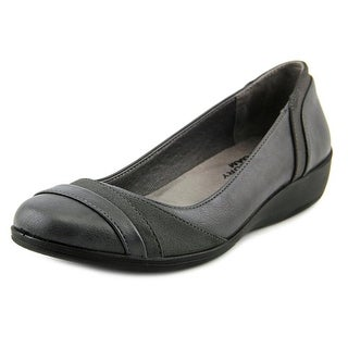 Life Stride Indeed Women Round Toe Synthetic Gray Flats