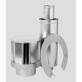 "Napoleon GD413 5"" Inner Diameter - Direct Vent Pipe - Double Wall - Roof Termina"