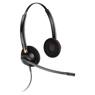 Plantronics Over-the-head Binaural Corded Headset - Stereo - (Refurbished)