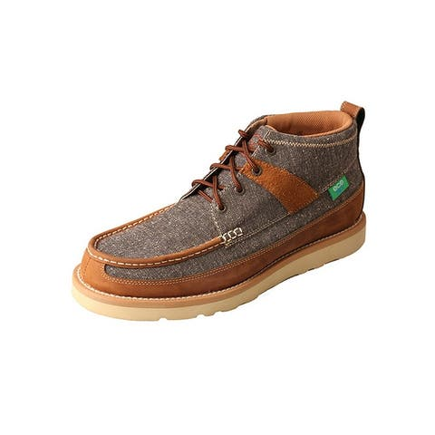 Twisted X Casual Boots Mens Tweed Lace EcoTWX Dust Brown