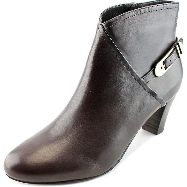 Gerry Weber Kate 11 Women Pointed Toe Leather Brown Ankle Boot