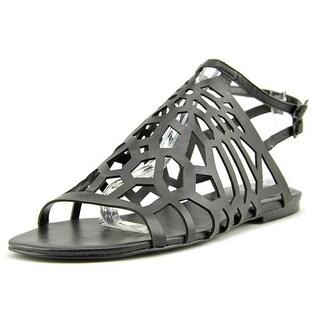 Charles By Charles David Nancy Women Open-Toe Leather Slingback Sandal