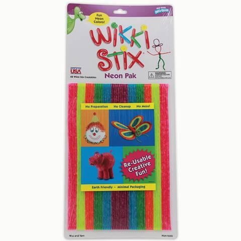 Wikki Stix Neon Colors 8In 48Pk