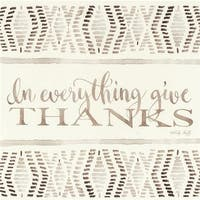 Dicksons PLK1212-509 12 x 12 in. In Everything Give Thanks Wall Panel