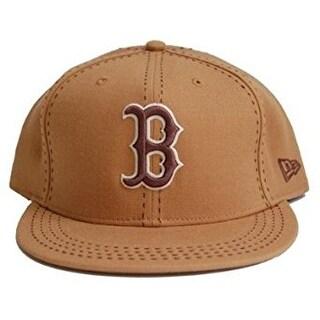 New Era Custom Boston Redsox Cap - Olive