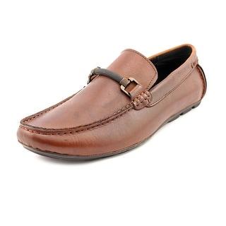 Kenneth Cole Reaction Get Set Men Moc Toe Leather Loafer