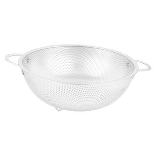 """Link to Fruit Rice Washing Dual Handles Mesh Drainer Basket Colander 9'' - Silver - 11.5"""" x 9"""" x 3"""" (L*W*Depth) Similar Items in Cooking Essentials"""