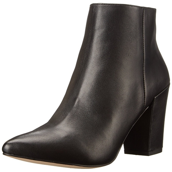 STEVEN by Steve Madden Womens Lidiaa Pointed Toe Ankle Fashion Boots