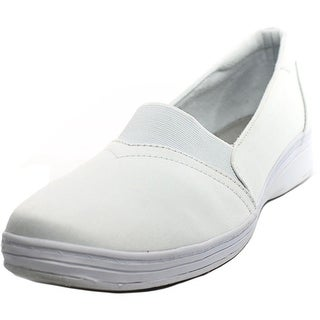 Grasshoppers Jade Women W Round Toe Synthetic White Sneakers